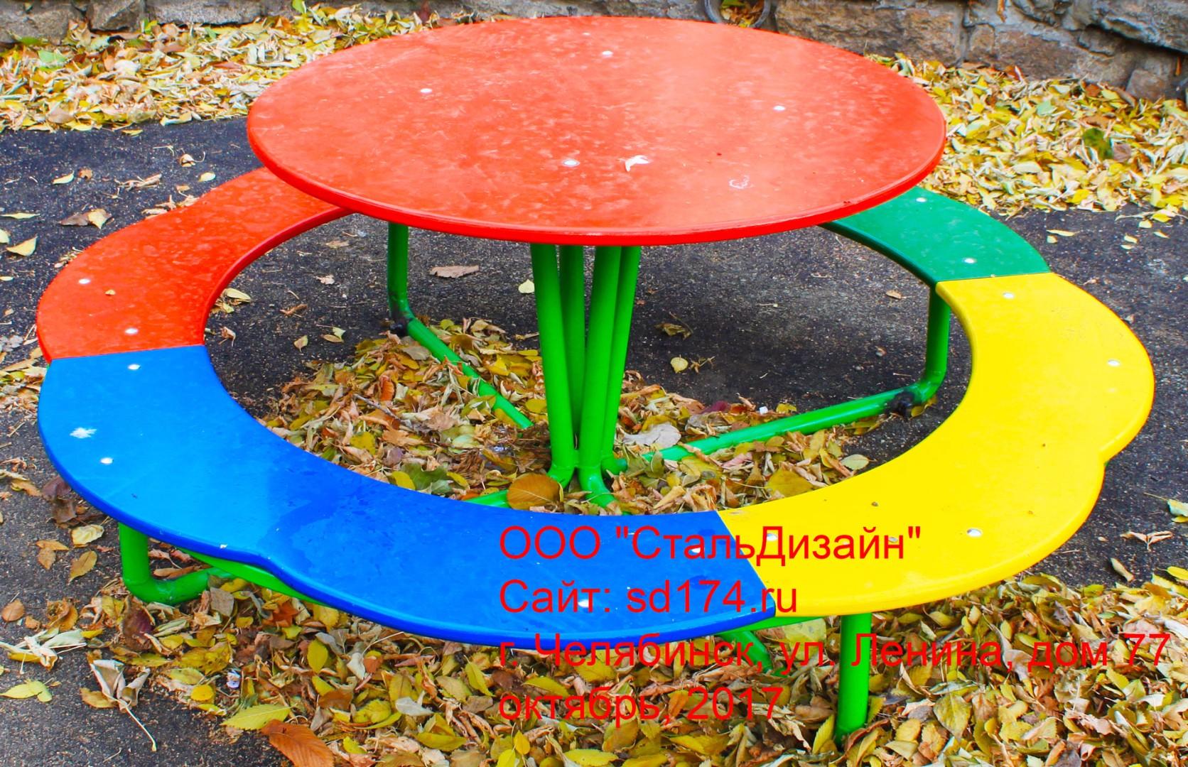 Столик на детскую площадку своими руками 70